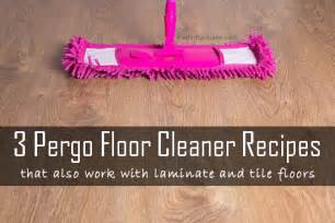 daily dose of thrifty three pergo natural floor cleaner