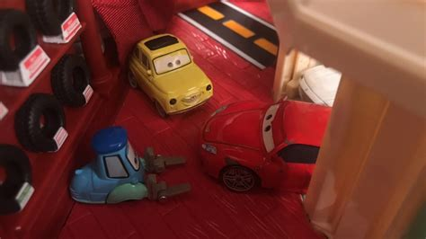 Free delivery and returns on ebay plus items for plus members. Disney Pixar Cars Michael Schumacher Ferrari Scene - YouTube
