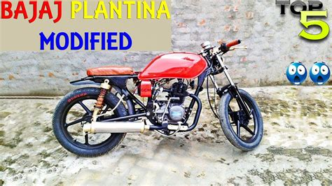 Platina Modified by Top 5 Bajaj Platina Modifications Best Fully