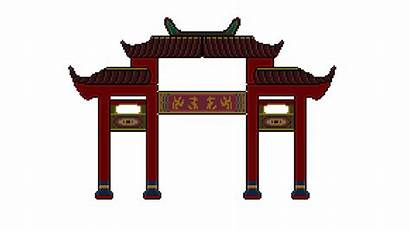 Temple Japanese Chinese Japan Clipart China Architecture