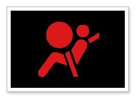 airbag light stays on supplemental restraint system srs warning light
