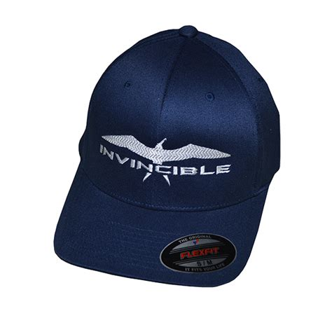 Invincible Boats Shirts by Navy Blue Flexfit Hat Invincible Boats