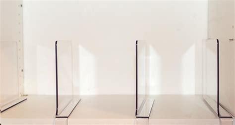 Acrylic Shelf Divider / Set of 2 ? The Organizing Shoppe
