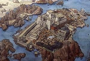Jean Claude Golvin. Храм Исиды на острове Филэ ...