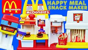 MEGA McDonalds Happy Meal Magic Snack Maker Set Hamburg ...