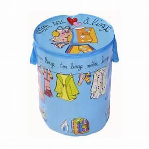 Panier Linge Enfant : coffre linge petit linge bleu tous les produits panier linge prixing ~ Teatrodelosmanantiales.com Idées de Décoration