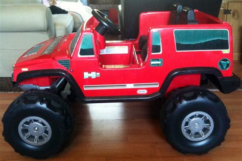 modified power wheels chozians   tikes hummer