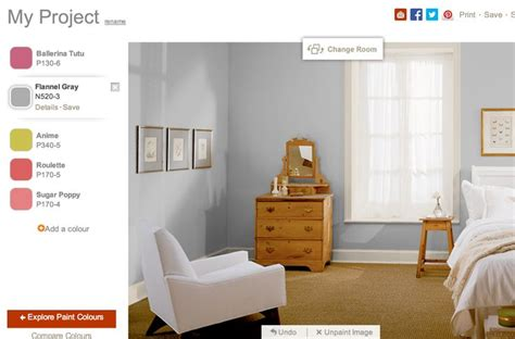 flannel gray behr room inspiration paint colors for