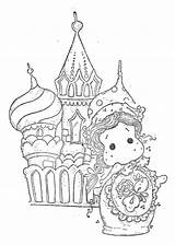 Stamps Magnolia Tilda Coloring Digi Russia Cool Digital Printable sketch template