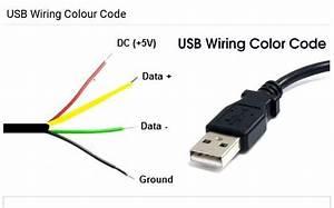 Usb Wiring Color Code