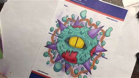 Graffiti Character Monster :  Mostro Graffiti Character