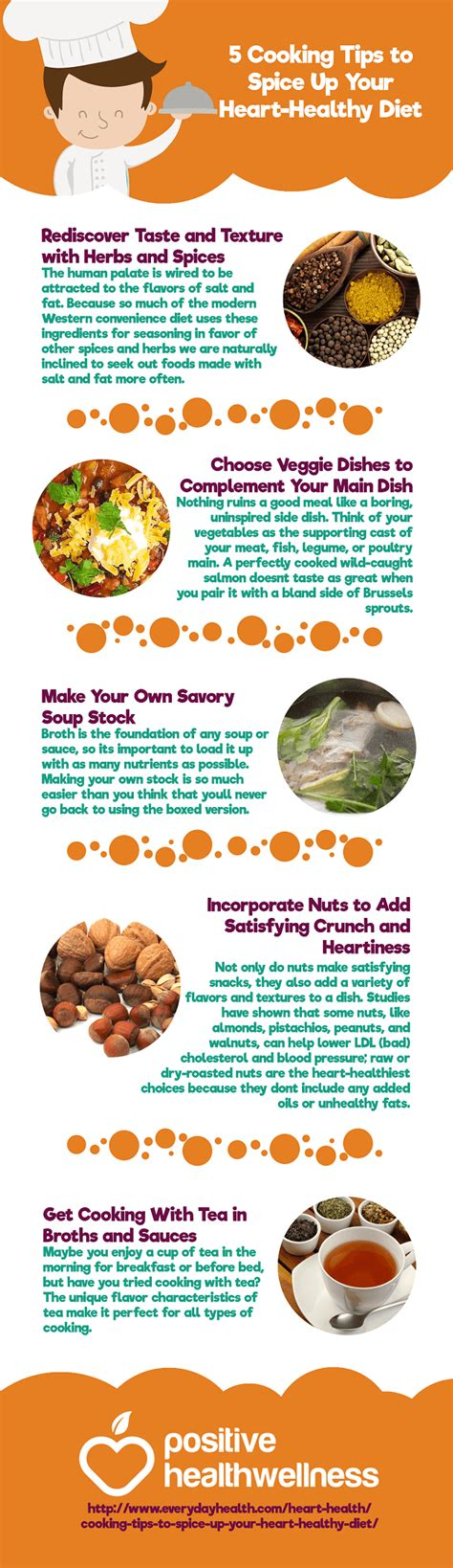 5 Cooking Tips To Spice Up Your Hearthealthy Diet