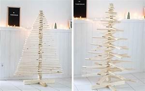 Weihnachtsbaum Aus Holz Beleuchtet : diy weihnachtsbaum aus holz tipps zum selbermachen simply hyggelicious ~ Watch28wear.com Haus und Dekorationen