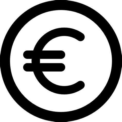 euro coins symbol commerce sign trading currency