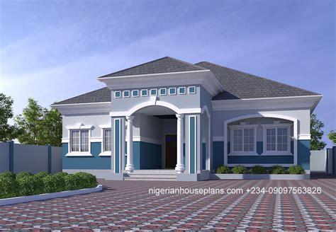 4 bedroom bungalow (Ref: 4029) - NigerianHousePlans