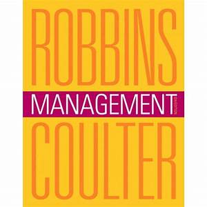 Test Bank For Management  12  E By Stephen P  Robbins  Mary Coulter