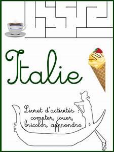 L Italie à Paris : livret d 39 activit s sur l 39 italie ressources diverses ~ Preciouscoupons.com Idées de Décoration