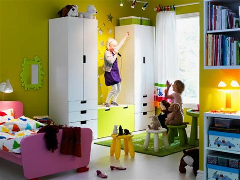 IKEA Kids Rooms Catalog Shows Vibrant and Ergonomic Design