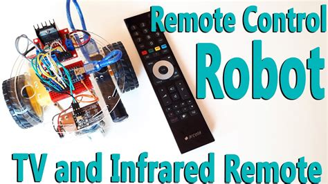 How Control Arduino Robot Car With Remote