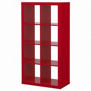 Etagere Expedit Ikea : expedit tag re brillant rouge ikea mon nouveau buffet ~ Dallasstarsshop.com Idées de Décoration
