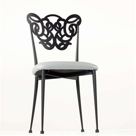chaise en fer forg 233 milos 4 pieds tables chaises et tabourets