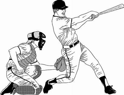 Baseball Coloring Pages Professional Healthy Realistic Cartoon