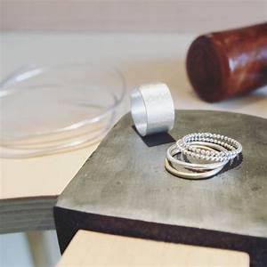 make your own silver wedding rings workshop for two by the With make your own wedding ring workshop
