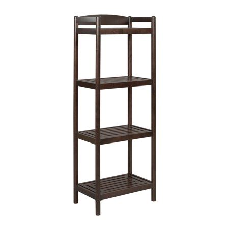 Bookcase Tower by Exmore Bookcase Media Tower With Adjustable Shelf