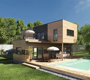maison bois moderne les 3 elements pour reussir sa With wonderful dessiner sa maison 3d 11 plan petite maison 2 chambres plan petite maison bois 2