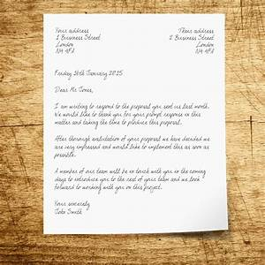 Writing a Business Letter: How to Structure a Letter ...
