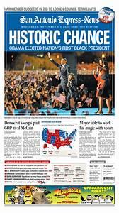 Obama - Newspaper Front Page Headlines of Barack Obama ...