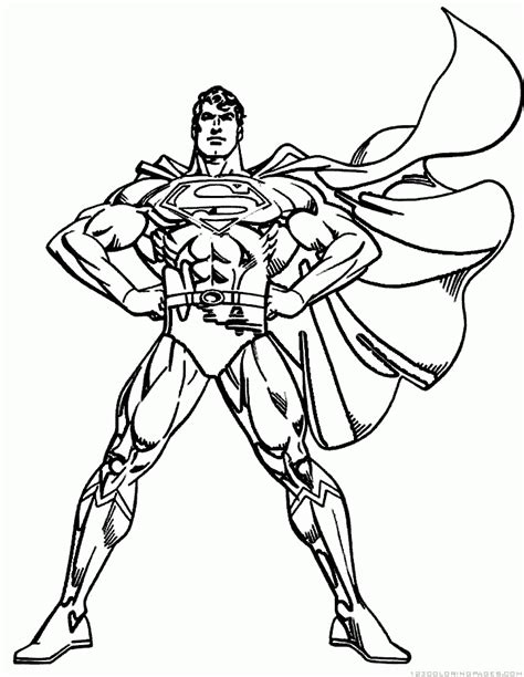 superman coloring pages part