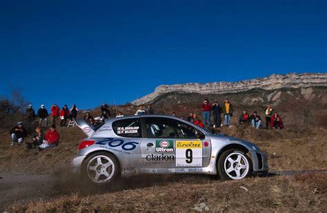 rallye monte carlo 2000 la peugeot 206 wrc avait pris froid autocult fr