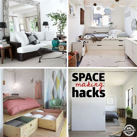 small space ideas home 27 genius small space organization ideas