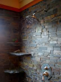 slate bathroom ideas in home slate shower room contemporary