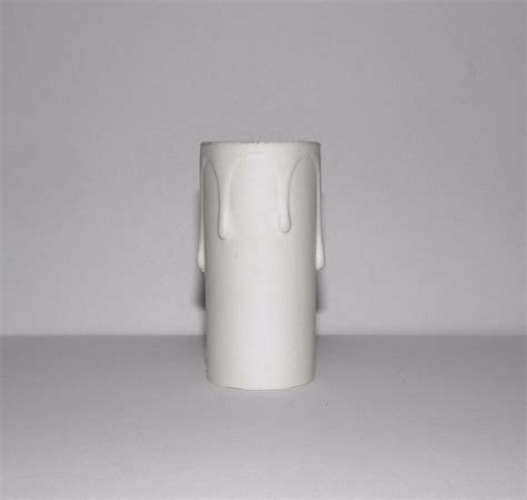 white plastic chandelier 2 quot white molded plastic chandelier replacement sleeve ebay