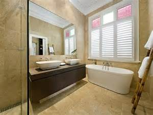 bungalow bathroom ideas classic bathroom design with freestanding bath using