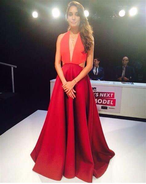 Lisa Haydon Looking Stunning In Gauri And Nainika On The Sets Of Indias Next Top Model