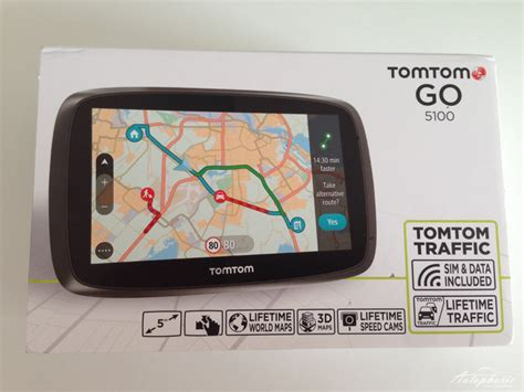 tomtom go 5100 test tomtom go5100 navigation lieferumfang 1