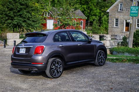 Fiat 500 X Review by Review 2016 Fiat 500x Sport Canadian Auto Review
