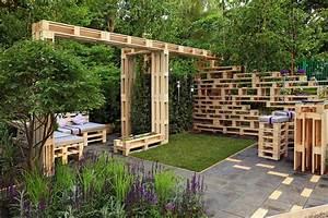 14 idees deco originales avec des palettes actualites With maison en palette plan 12 comment faire un mur en bois de palette mzaol