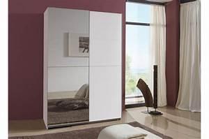 Porte Coulissante Miroir : armoire miroir porte coulissante 135 cm pour armoire ~ Carolinahurricanesstore.com Idées de Décoration