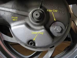 Honda Pc800 Final Drive Oil