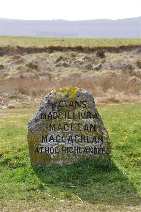 Clan Stone, Culloden Moor, Inverness, Scotland Scotland
