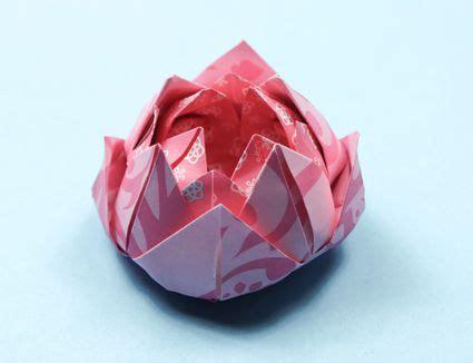 How Make Easy Origami Flower