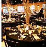 Table Decorations Black And White Theme Wedding Ideas Black Gold Weddings White Centerpiece Reception Ideas