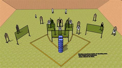 trifecta uspsa stage design sketchup youtube