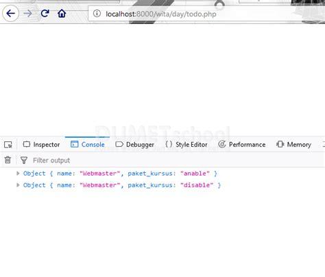 jquery console log menilkan to do list jquery ajax pada console log