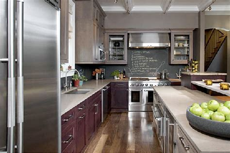 Chalkboard Paint Kitchen Backsplash :  Chalkboard Backsplash (affordable
