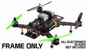 Aerosky Rc Drone Racing 250 Carbon Fiber Kit Quadcopter Rc